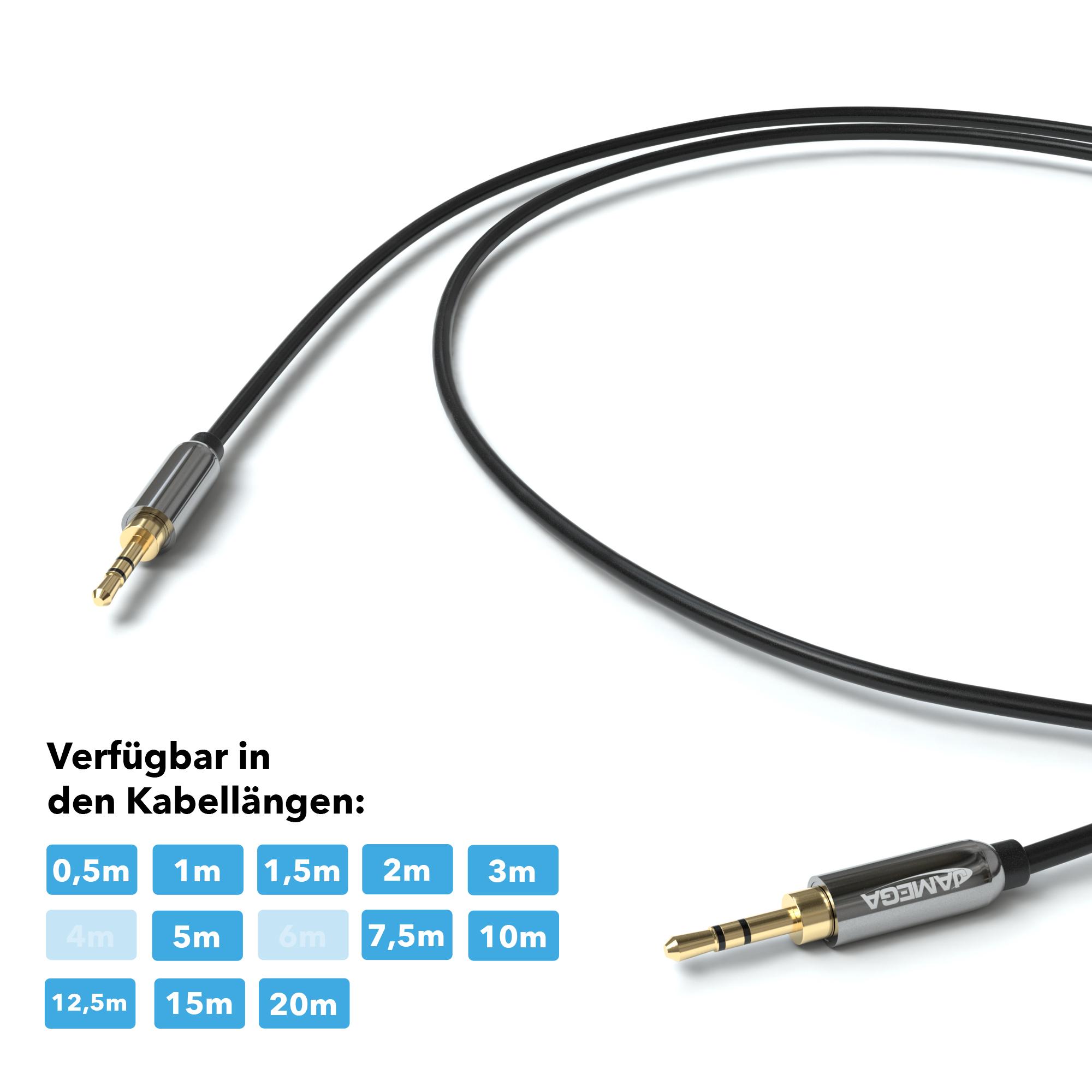 1 5m aux kabel 3 5mm audio stereo klinke stecker f r handy. Black Bedroom Furniture Sets. Home Design Ideas